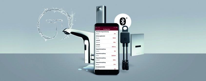 Sistemul de setare individual a parametrilor armăturilor electronice: Modul Bluetooth® SCHELL SSC