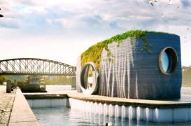 O casă plutitoare va fi printată 3D în 48 de ore în Cehia