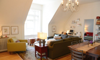 Apartament luminos intr-o mansarda din Minneapolis Stephanie Mayer se poate lauda ca a reusit sa preia