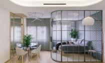 Detalii de proiectare: Dormitor și baie închise cu sticlă