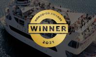 AudioVision câștigă competiția MONDO-DR Awards cu proiectul Alezzi Yacht Alezzi Yacht a fost desemnat castigator in