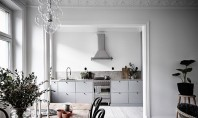 Bucătării fără dulapuri suspendate - oare merită? Bucatariile fara niciun fel de dulapuri suspendate Intre avantaje