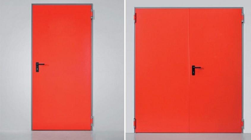 Uşi cu funcţii speciale – Uşile antifoc