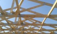 Dulgherii realizate prin tehnologii moderne In ultimii ani folosim cu succes in proiectele ExpoTest Construct sarpantele