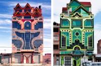 Un fost zidar devenit arhitect autodidact uimește lumea cu clădirile lui fantastice Zilele astea, este mai ales arhitectura cea care trezeste surpriza. O multime de cladiri caleidoscopice viu colorate care amintesc de robotii din Transformers