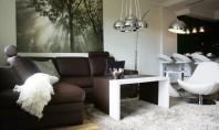 Un mic apartament in culori clasice dar cu stil contemporan Apartamentul are doua camere de dormit