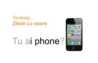 Zilele cu soare iti pot aduce un iPhone 4S!