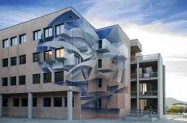 Artistul care schimbă fața clădirilor cu iluzii optice 3D spectaculoase