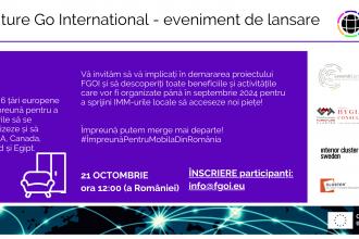 Furniture Go International: parteneriat între clustere din industria mobilei