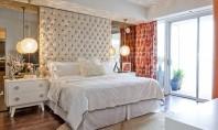 7 idei pentru ce să-ți pui în spatele patului In cazul paturilor fara tablie peretele din