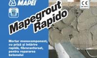 Mortarul grosier cu priza rapida MAPEGROUT RAPIDO Aveti de reparat o suprafata din beton degradata si
