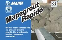 Mortarul grosier cu priza rapida MAPEGROUT RAPIDO