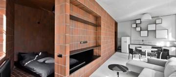 Apartament reorganizat pentru a fi mai functional