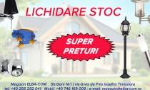 Lichidare de stoc - Super prețuri la produse de iluminat casnic