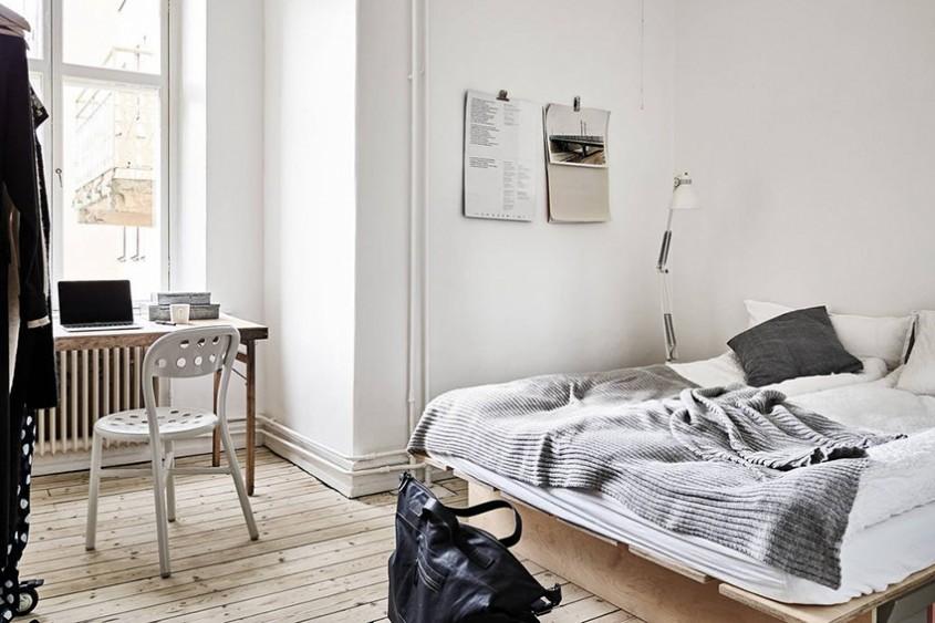 Biroul de acasă: Idei pentru amenajarea unui spaţiu de lucru în dormitor