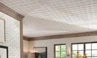 Cateva lucruri despre plafoanele casetate Din punct de vedere estetic dar si functional tavanele suspendate casetate