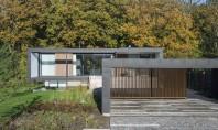Casă mică interioare generoase O casa realizata de echipa CF Moller reuseste sa impresioneze prin eficienta