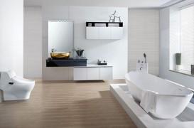 De ce să vopsești pereții din baie în alb
