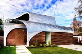 """Celebra stampa """"Marele Val"""", sursa de inspiratie pentru design-ul unei locuinte spectaculoase"""