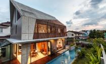 Design modern pentru un bungalou modest
