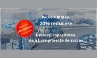 Pachete BIM cu 20% reducere Pana pe 26 ianuarie 2017 va oferim 20% reducere pentru pachetele