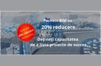 Pachete BIM cu 20% reducere