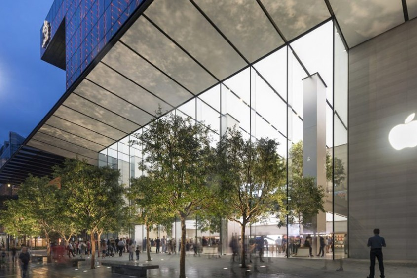 Primul magazin Apple care este alimentat 100% cu energie regenerabilă