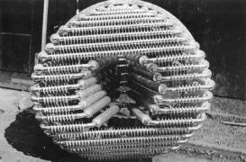 Zincarea termică a containerelor şi a pieselor tubulare