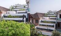O casa cu terase ce combina arhitectura cu agricultura urbana Echipa de la H&P Architects a