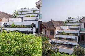 O casa cu terase ce combina arhitectura cu agricultura urbana