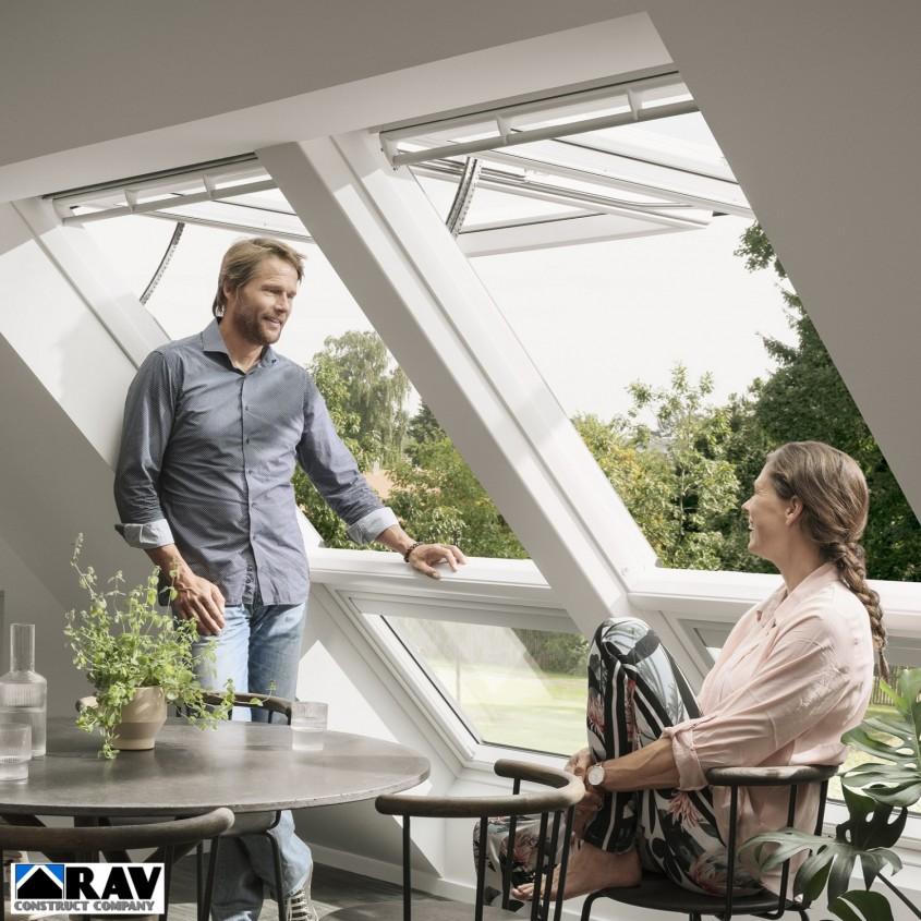 Ferestrele VELUX pentru mansardă instalate de un specialist cea mai bună soluţie de iluminare şi de