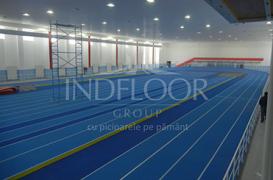 Indfloor Group da o noua infatisare pistei de atletism Lia Manoliu