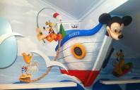 Camerele de copii si nemuritorul stil Disney