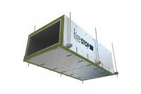 FIRESTOP - sistem de protectie la foc a canalelor de ventilatie si conductelor de evacuare a fumului si a gazelor fierbinti
