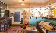 Interioare amenajate cu materiale si mobilier reciclat Daca este sa aruncam o privire in casa lui