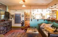 Interioare amenajate cu materiale si mobilier reciclat Daca este sa aruncam o privire in casa