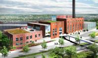 O veche centrala va gazdui un nou Colegiu de Arta Membrii echipei Studio Gang Architects au
