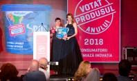 Vopseaua lavabilă Spor votată Produsul Anului 2018 Sondajul a fost realizat online pe 29 de categorii