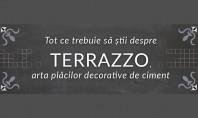 Tot ce trebuie sa stii despre terrazzo (infografic) Terrazzo este un material compozit care nu se