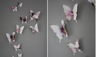 Deco cu fluturasi mai in gluma mai in serios Folosirea fluturilor in decoratiunile interioare nu se