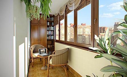 Balconul - spatiu de stocare sau camera?