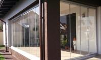 Sticla - materialul pentru inchideri terase si balcoane pereti si compartimentari interioare Schimbati utilitatea spatiului dorit