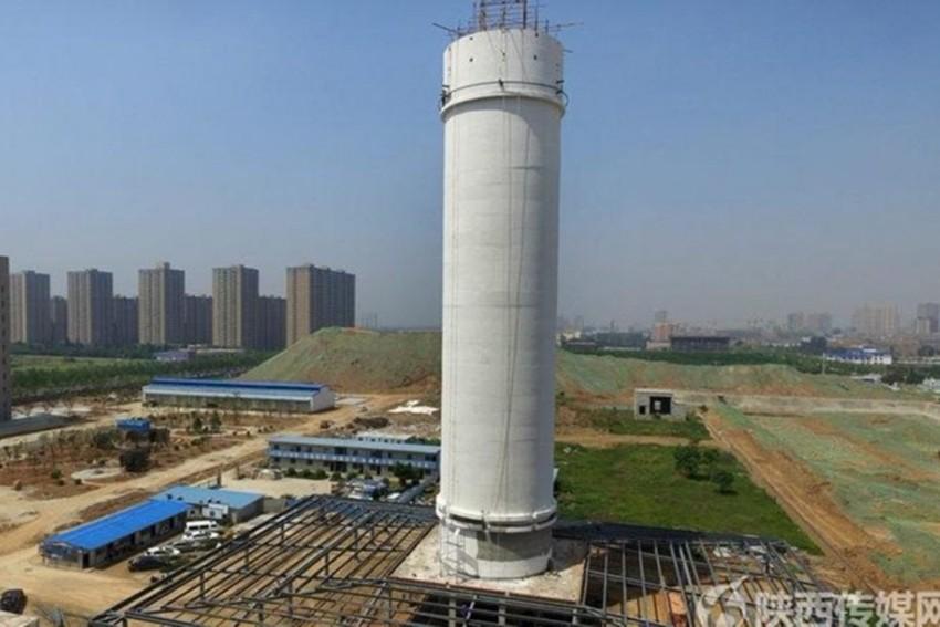 """Cel mai mare """"purificator de aer"""" din lume funcționează într-un oraș chinezesc"""
