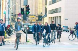 Cum se luptă Copenhaga cu ambuteiajele de biciclete