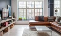 Un apartament confortabil ce aminteste de un spatiu industrial Amplasat in centrul cartierului Soho din Londra