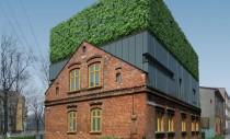 Casa D - o mixtura poloneza de arhitectura veche, noua si vegetatie