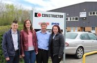 Ingineri de la Centrul de Suport Vanzari Romania viziteaza Dexion Marea Britanie