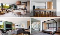 Un apartament amenajat printr-o combinaţie de materiale moderne Biroul ARRCC a finalizat recent amenajarea cu materiale