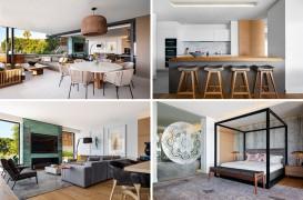 Un apartament amenajat printr-o combinaţie de materiale moderne