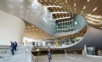 Formele spectaculoase ale garii Arnhem pot fi admirate live